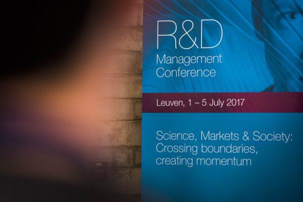 R&D Management Conference 2017 1
