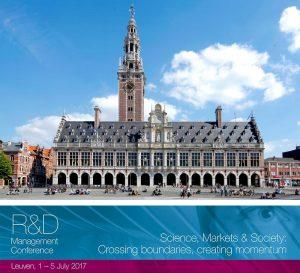 R&D Management Conference 2017