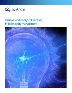 Intuitive vs analytical thinking white paper cover