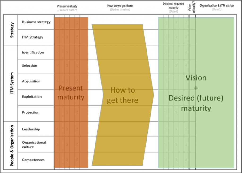 Figure 3 - Roadmapping-based workshop format for TIM Assessment deployment