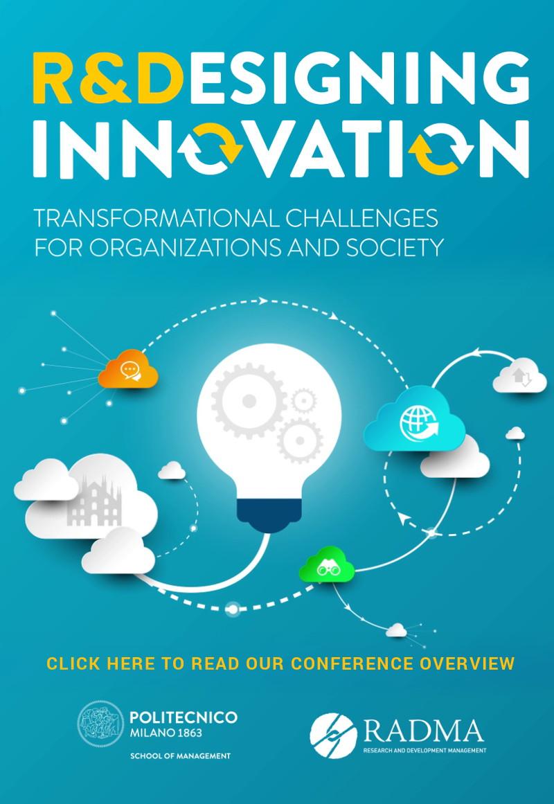 R&D Management Conference portrait banner post event