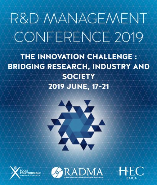 R&D Management Conference 2019