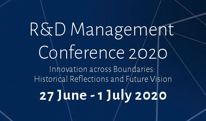 R&D Management Conference 2020
